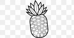 Pineapple Drawing Line Art - Vector Graphics Clip Art Drawing Line Art PNG
