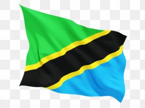 Flag - Flag Of Tanzania Democratic Republic Of The Congo Country PNG