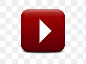 YouTube Play Button Clipart - Brand Red Square, Inc. PNG
