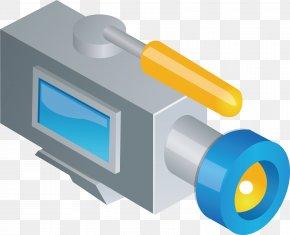 Camera Vector Element - Microphone Video Camera PNG