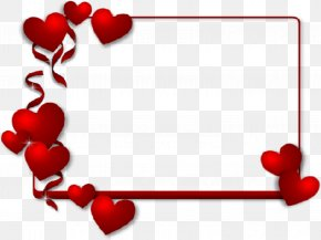 Valentine's Day - Valentine's Day Picture Frames Heart Paper Clip Art PNG