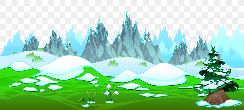Spring Clip Art, PNG, 4999x2256px, Mountain, Art, Biome, Blog, Drawing Download Free