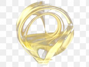 Deformation Of Gold - Brass Silver Gold Yellow PNG