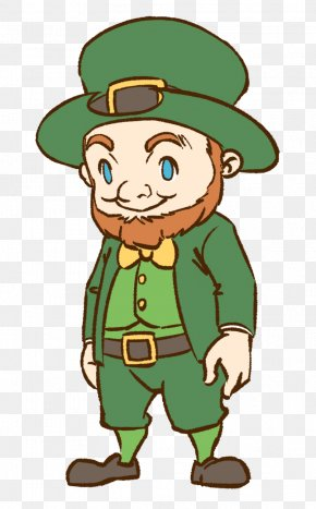 Leprechaun - Leprechaun Saint Patrick's Day Clip Art PNG