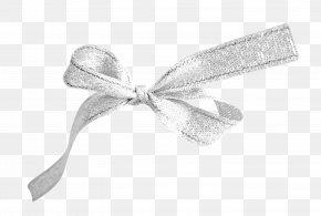 Bow - Ribbon Textile White PNG