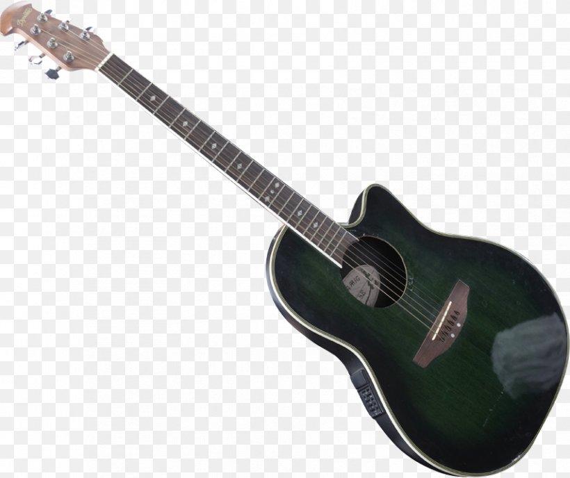 Acoustic Guitar Twelve-string Guitar Bass Guitar Tiple Electric Guitar, PNG, 854x717px, Watercolor, Cartoon, Flower, Frame, Heart Download Free