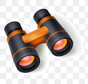 Binoculars - Vector Graphics Image Illustration Binoculars PNG