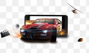Phone,3D Car - Computer Graphics PNG