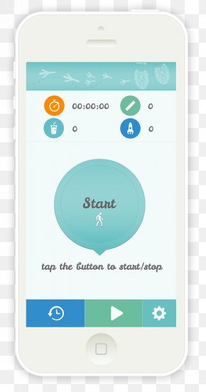 Step Counter - User Interface Design Graphic Design Icon Design Poster PNG