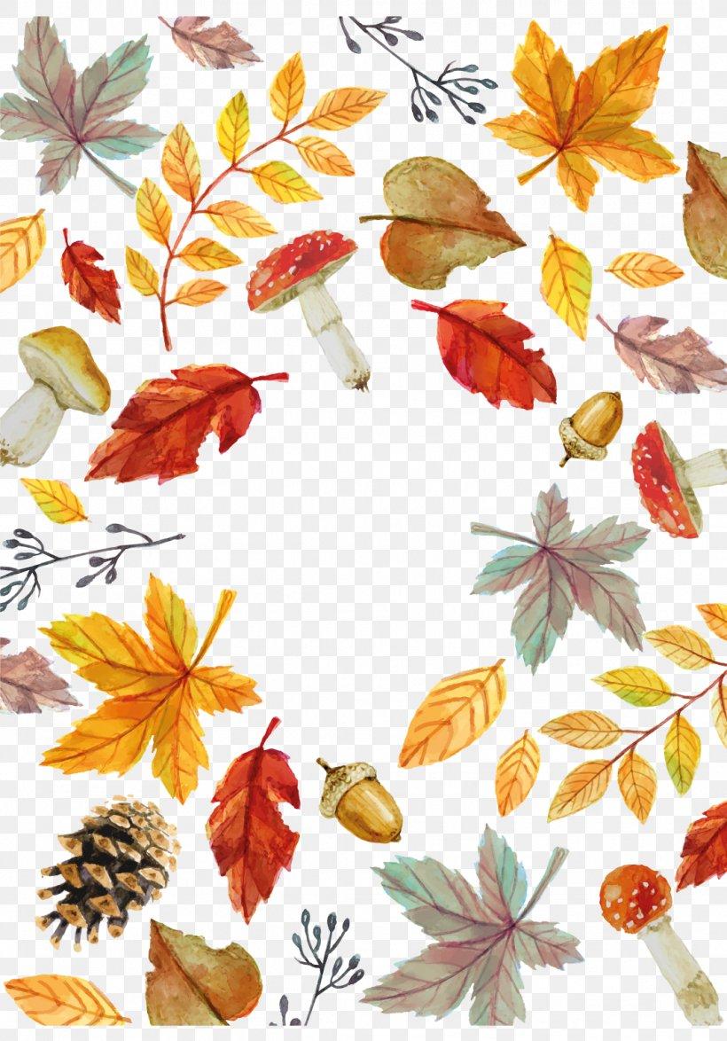 Autumn Leaf Euclidean Vector, PNG, 1067x1528px, Autumn, Autumn Leaf Color, Autumn Leaves, Branch, Deciduous Download Free