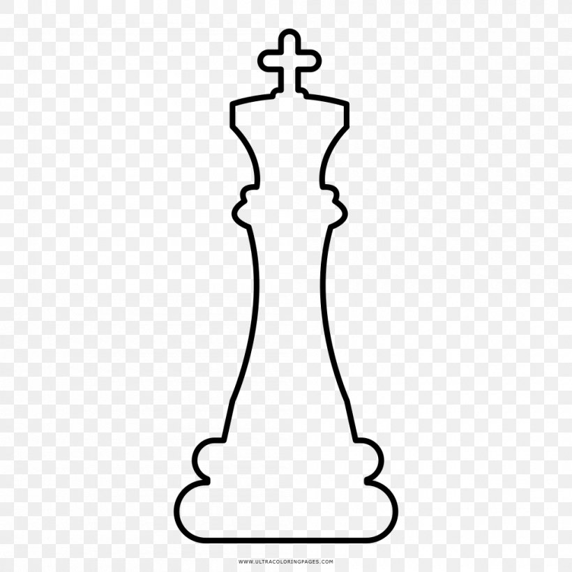 Chess Drawing Coloring Book Game Ausmalbild Png