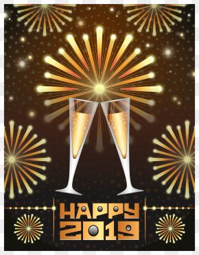 Happy New Year - New Year's Day New Year's Eve Clip Art PNG
