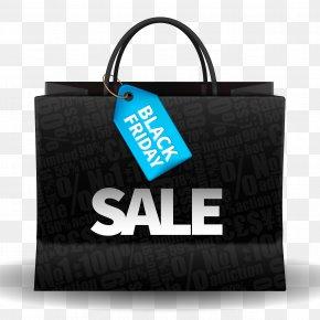 Black Friday Shopping Bag Vector Material - Black Friday Handbag Shopping Bag PNG