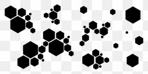 Geometric Shapes - Hexagon Particle PNG