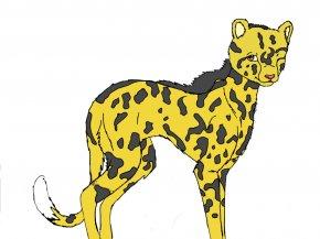 Cheetah Drawings Images - Cheetah Cat Lion Drawing Clip Art PNG