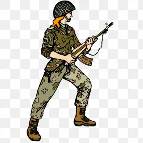 Attack Of Soldiers - Infantry Soldier Clip Art PNG