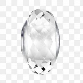 Glass Bead - Jewellery Silver Charm Bracelet Bead PNG