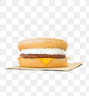 Breakfast - Breakfast Sandwich English Muffin Ham And Cheese Sandwich PNG