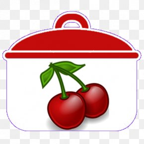 Cooking Pot - 7 And 7 Cherry Food Fruit Clip Art PNG