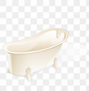Vector White Bathtub - Bathtub Toilet Seat Tap Bathroom Sink PNG