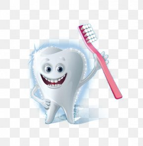 Cartoon Tooth Toothbrush - Toothbrush Euclidean Vector Tooth Brushing PNG