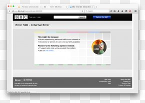 World Wide Web - BBC Computer Program Web Page Denial-of-service Attack PNG