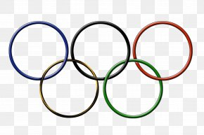 Olympic Rings - 2016 Summer Olympics 2018 Winter Olympics Olympic Games Pyeongchang County Sponsor PNG