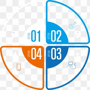 Vector Business Pie Chart - Pie Chart Infographic PNG