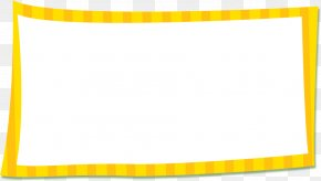Summer Picnic Pictures - Picture Frames Yellow Area Pattern PNG