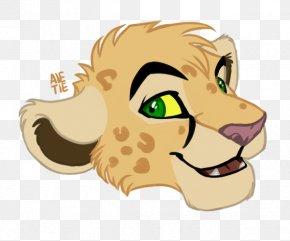 Lion - Whiskers Lion Dog Cat Illustration PNG