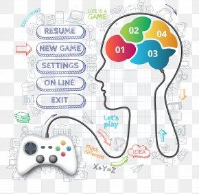 Human Brain Data - Brain Infographic Human Head PNG