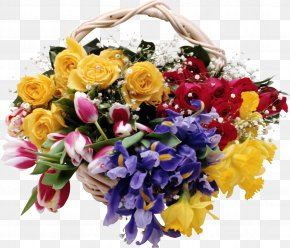 Bouquet Of Flowers - Cut Flowers Floral Design Floristry Flower Bouquet PNG
