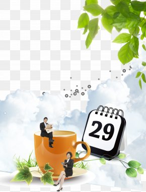 Business Men And Women On The Coffee Cup - Waste Container Recycling Bin Plastic High-density Polyethylene PNG