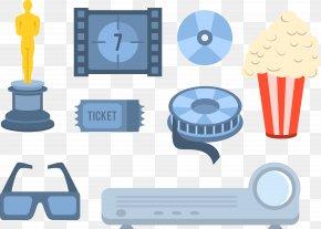 Picture Slide Button Media Glasses - Cinema Reversal Film Communicatiemiddel Filmstrip PNG