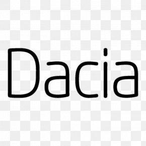 Dacia - Typeface Character Font Family Logo Font PNG