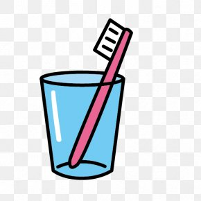 Cartoon Toothbrush Cups - Toothbrush Tooth Brushing Toothpaste Clip Art PNG