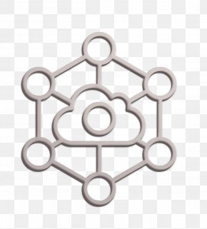 Metal Iot Icon - Cloud Icon Internet Icon Internet Of Things Icon PNG
