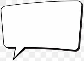 Comics Speech Bubble Transparent Clip Art - Black And White Car PNG
