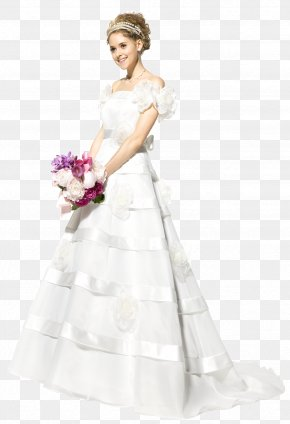 Wedding Dress - Wedding Dress Wedding Invitation Bride PNG