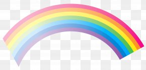 Rainbow Clipart - Rainbow Sky Design Graphics PNG