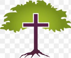Cross Tree Cliparts - Christian Church Parish Baptists United Methodist Church Baptism PNG