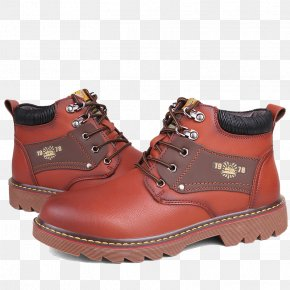 Outdoor Leisure High Help Martin Boots - Snow Boot Shoe Podeszwa PNG