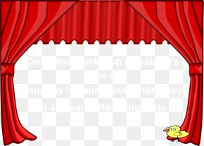 Address Cliparts - Theater Drapes And Stage Curtains Clip Art PNG