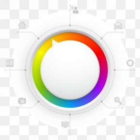 PPT Information - Circle Website Web Template System PNG