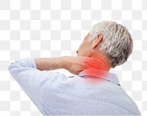 Old Man's Neck Pain - Nuchal Rigidity Shoulder Pain Back Pain Neck Pain Management PNG