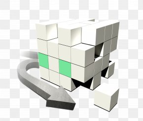 Business Cube - Resource Euclidean Vector Cube PNG
