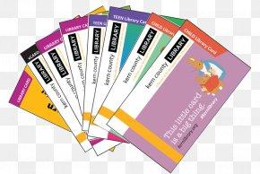 Library Card Software - Kern County, California Kern County Library Paper Library Card PNG
