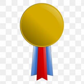 Gold Medal Clipart - Gold Medal Olympic Medal Clip Art PNG