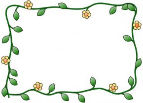 Flower Cliparts Frame - Picture Frame Flower Clip Art PNG