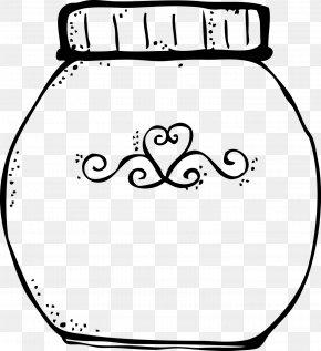 Cookie Jar Picture - Cookie Jar Black And White Cookie Clip Art PNG
